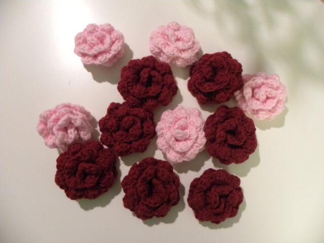 Flor de crochê pequena