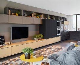 Integre ambientes se utilizando de móveis planejados