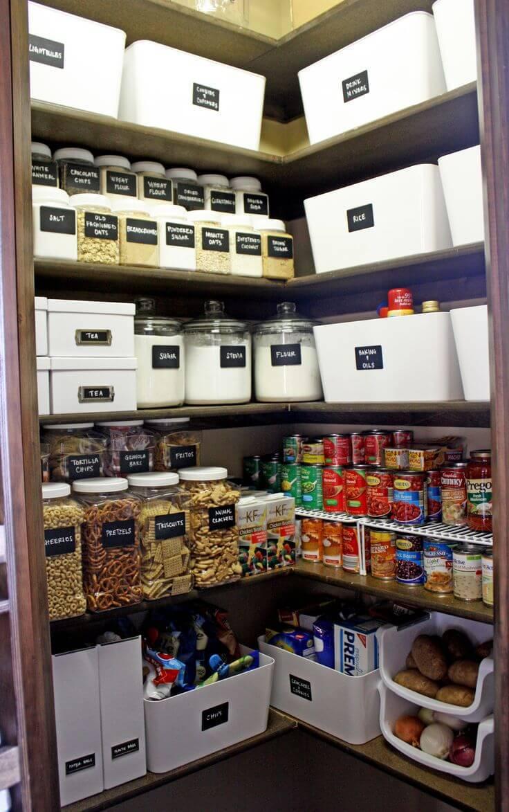 caixa organizadora despensa