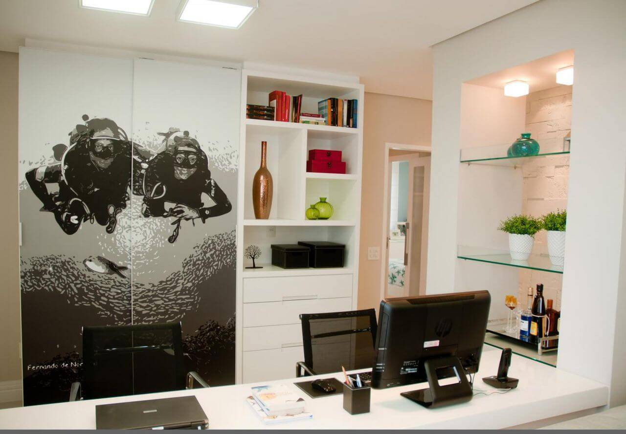 caixa organizadora home office com prateleiras juliana pippi 69840