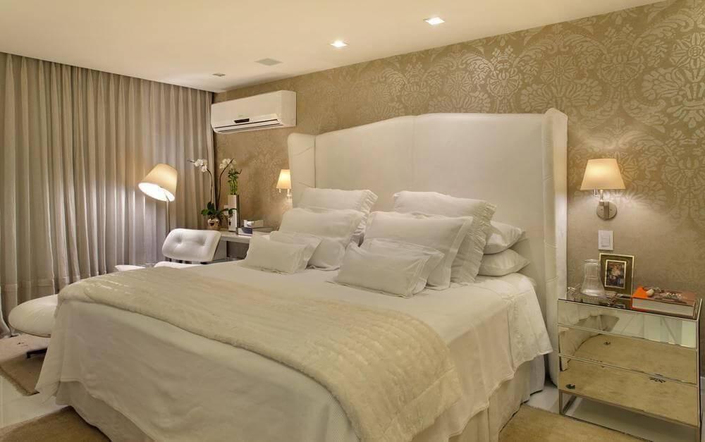 cama de casal alta com cabeceira branca roberta devisate 26228