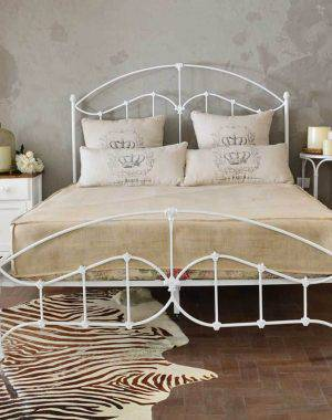 cama de casal estrutura de ferro dary silva 135005
