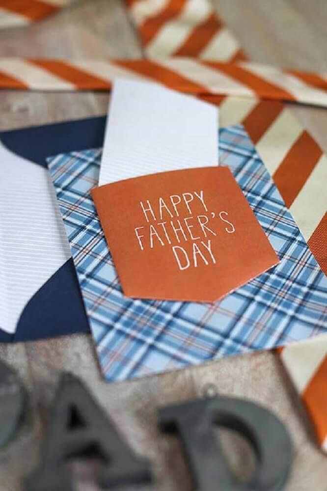 cartão personalizado para dia dos pais