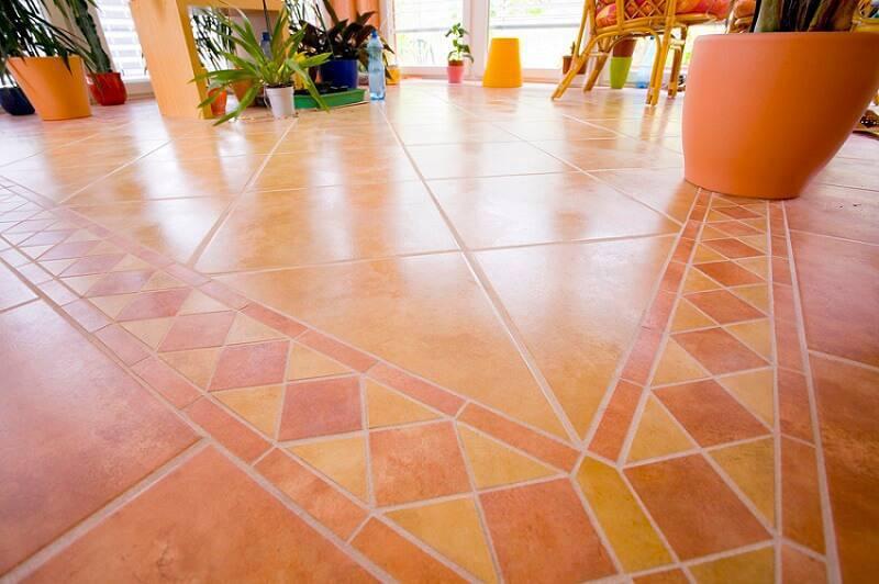 ceramica area de lazer