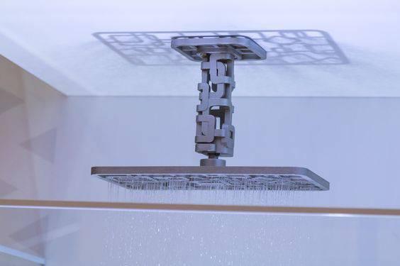 chuveiros deca de teto com design diferenciado