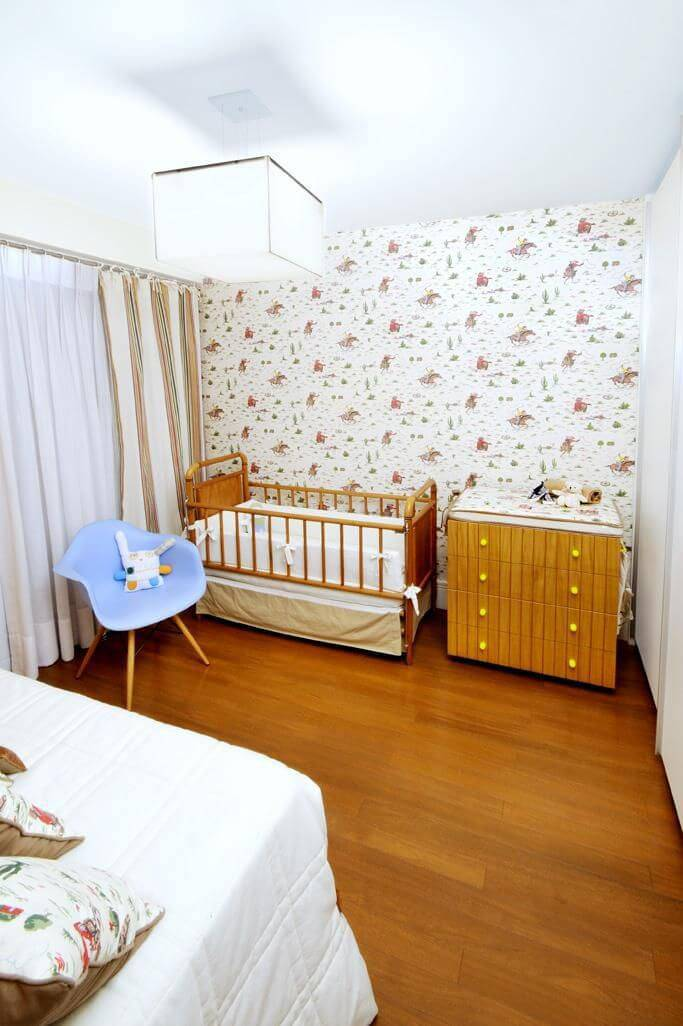 comoda quarto de bebe madeira e berço coutinho vilela 92150