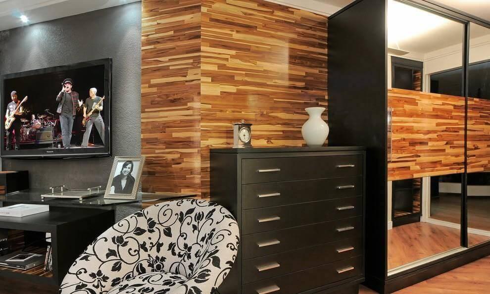 comoda quarto de casal preta e madeira juliana lahoz 79286