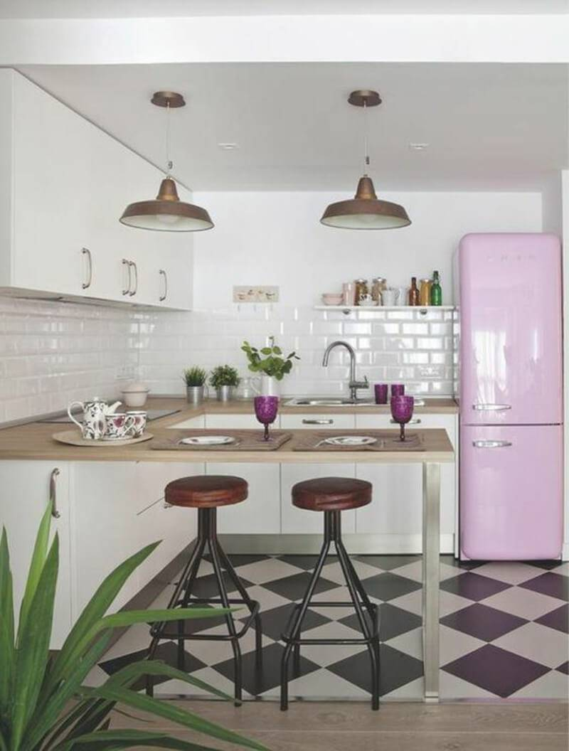 cozinha dos signos rosa peixes