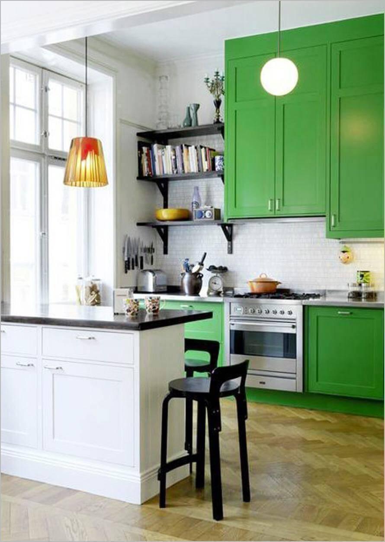 cozinha dos signos sargitario armarios verdes