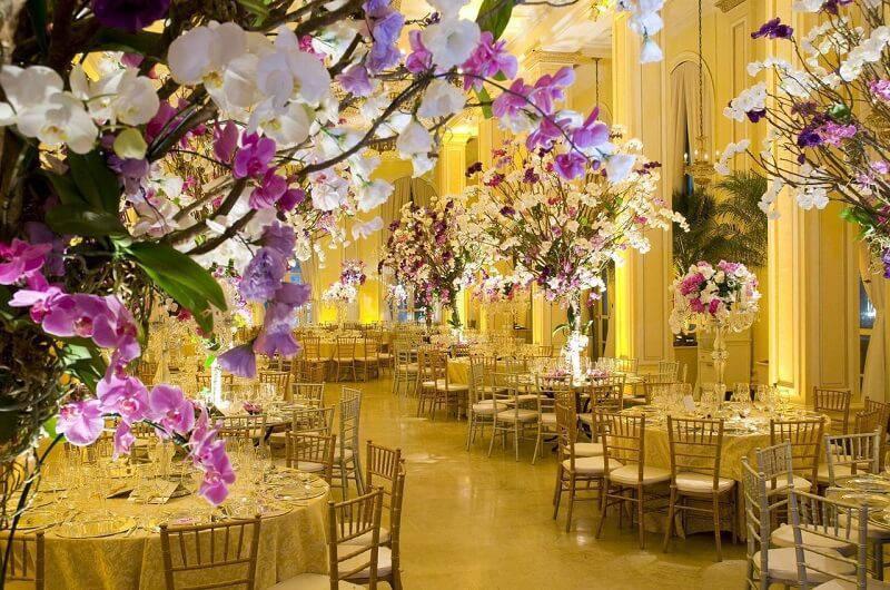 decoração de casamento mesa de convidados leo shehtman