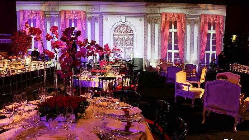 decoração de casamento mesa do bolo Jayme Bernardo
