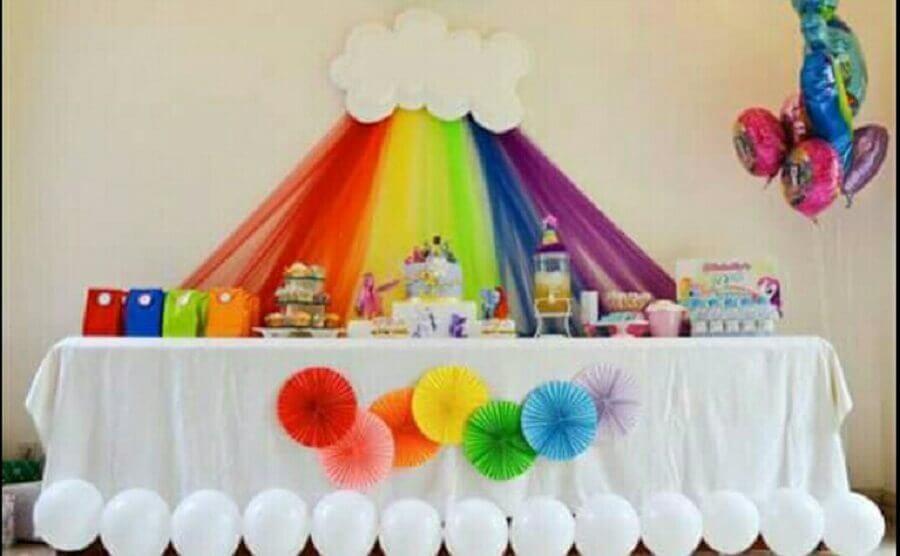 decoração de festa infantil simples Foto WM Party