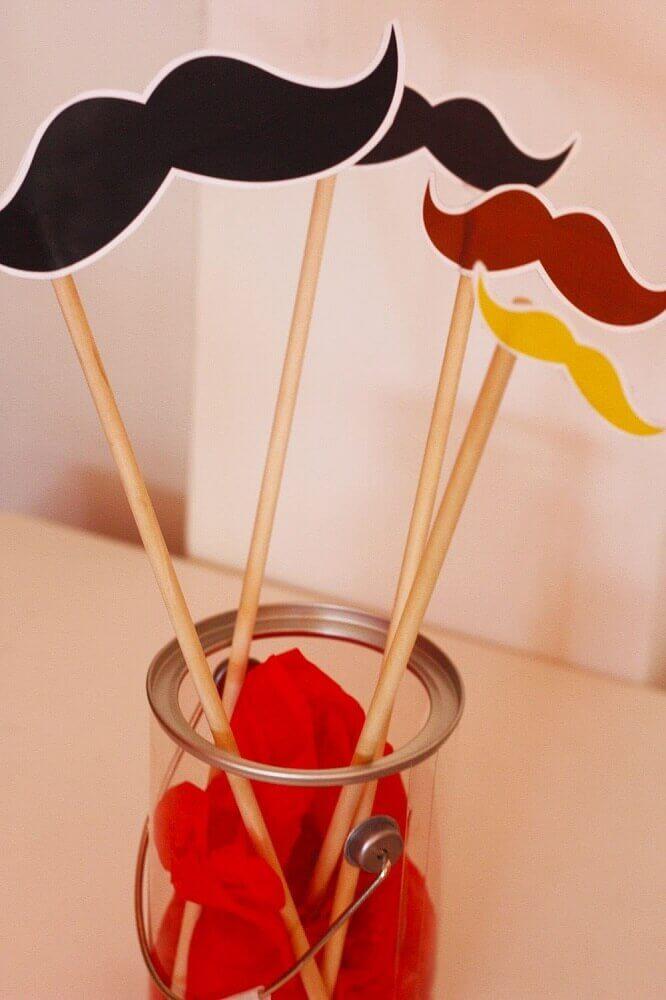dia dos pais com decoração simples