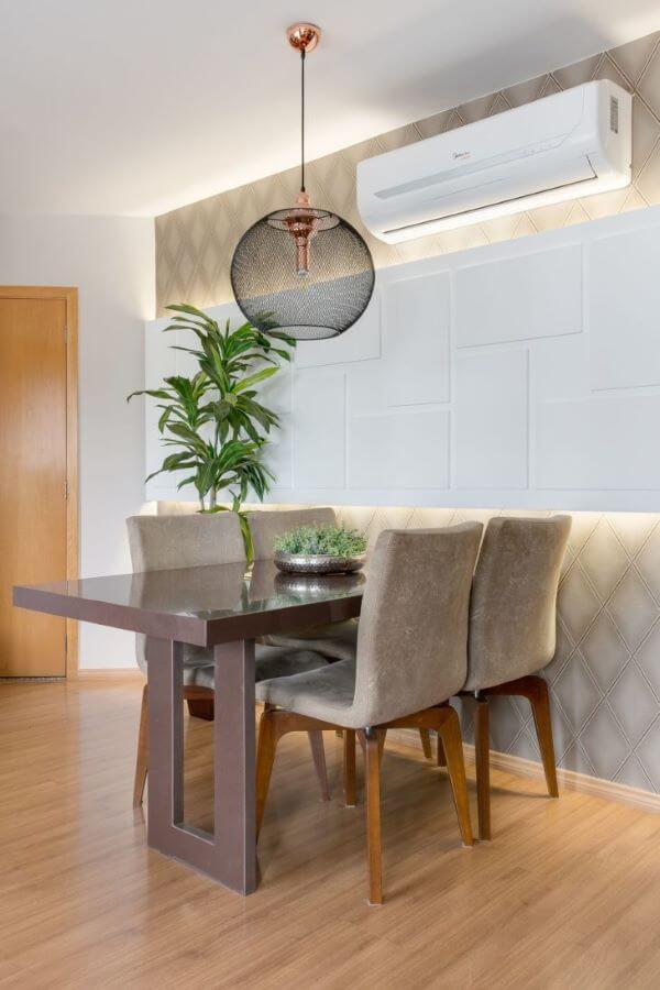 Enfeite de mesa de jantar sofisticado