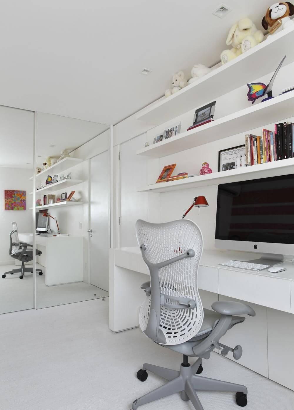escrivaninha branca cadeira moderna izabela lessa 8071