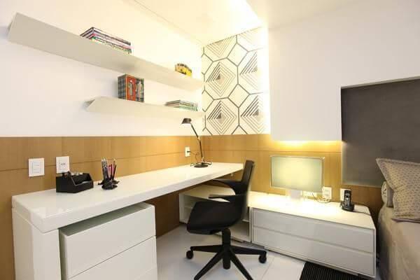 escrivaninha branca com gavetas quarto rodrigomaia 16141