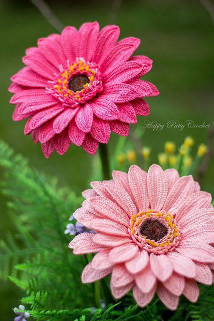 flores de croche geranio rosa-min