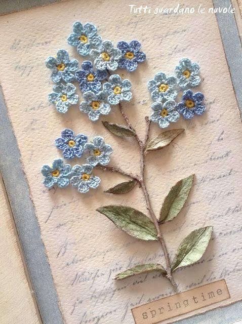 8aa1ae3b1 Flor de Crochê  +140 Modelos de Flores de Crochê para Colorir a Casa