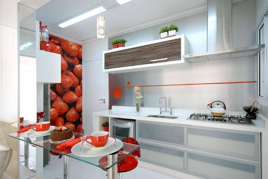gabinete de cozinha com portas de vidro renato feroldi 61694