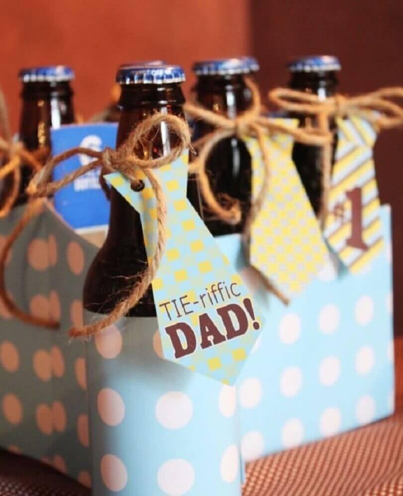garrafinhas personalizadas para dia dos pais