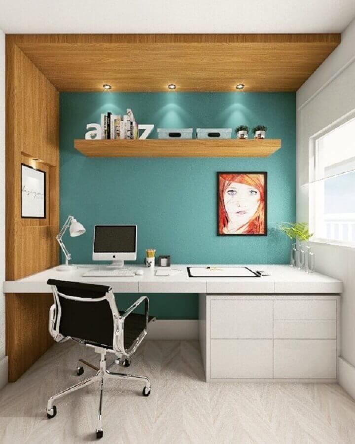 móveis para escritório pequeno Foto Betania Pacheco Arquitetura