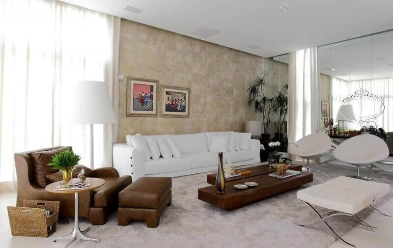 mesa de madeira sala de estar centro dupla rodrigo fonseca 66711