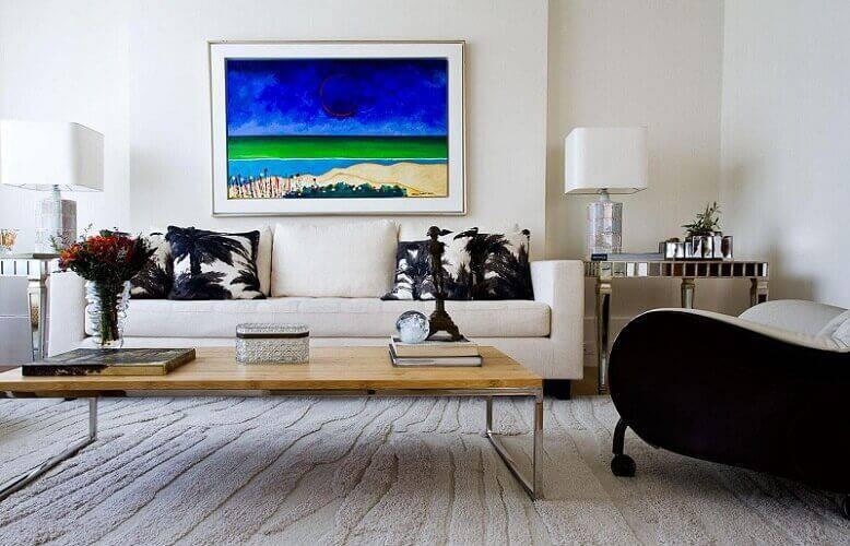 mesa de madeira sala de estar pes metalicos oscar mikail 74971