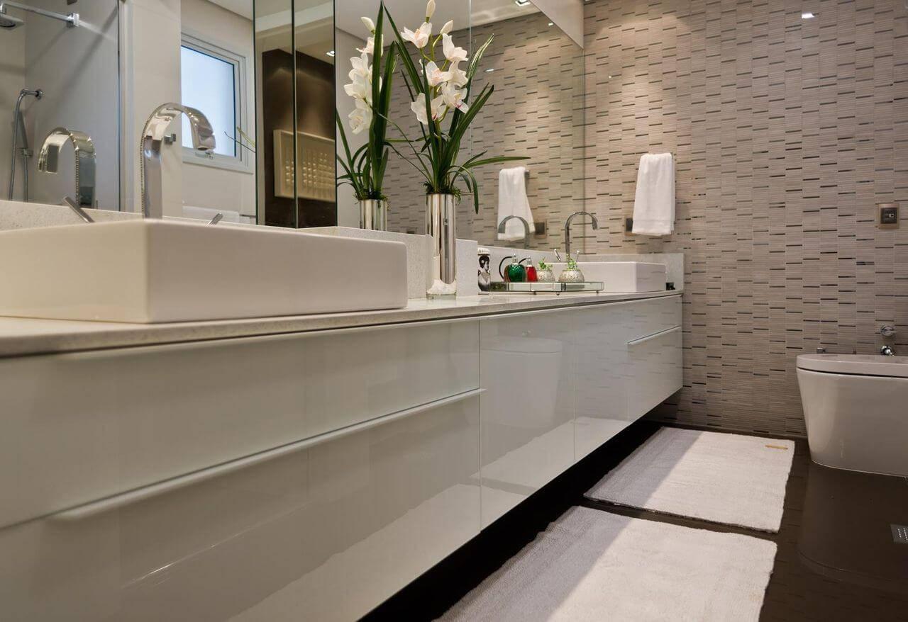 moveis planejados banheiro pia longa arch design 11195