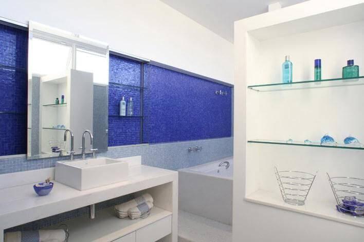 pastilhas de vidro banheiro grande jannini sagarra arquitetura 55179