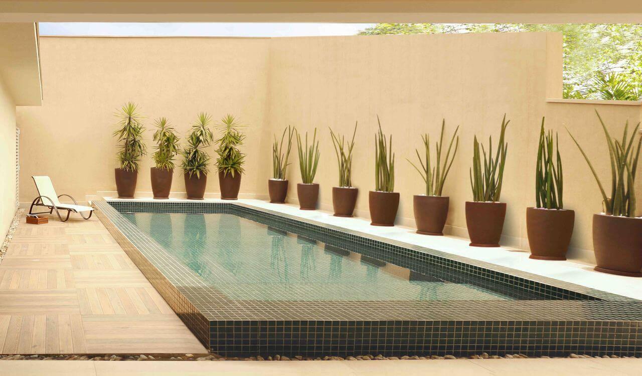 pastilhas de vidro piscina verde rawi arquitetura + interiores 132863