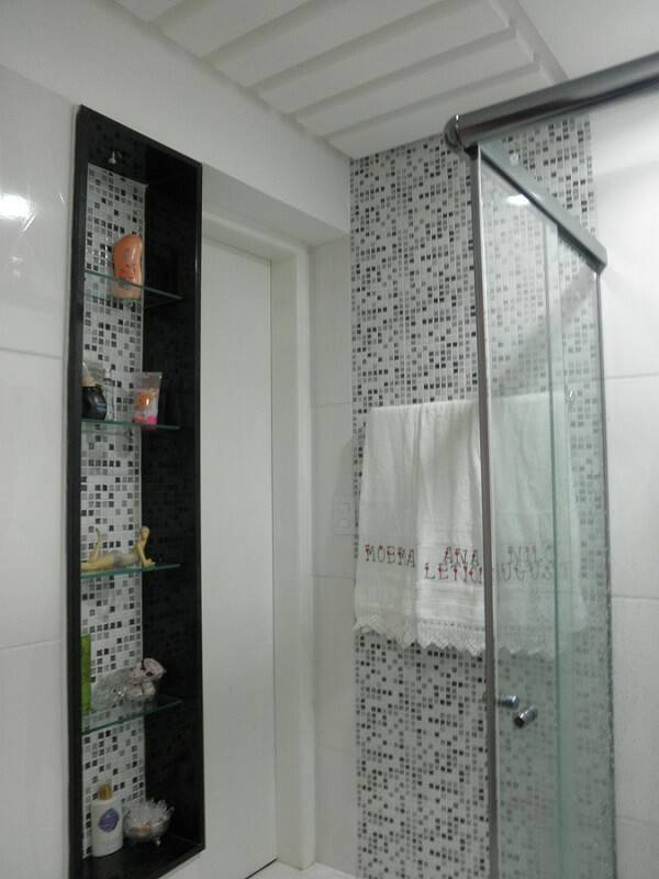 pastilhas de vidro prateleira banheiro studioc 49976