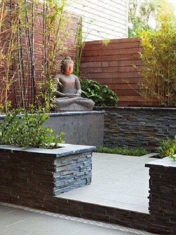Pedras decorativas para jardim japonês