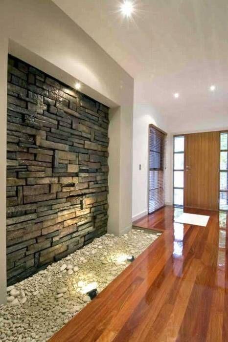 Pedras decorativas em casa