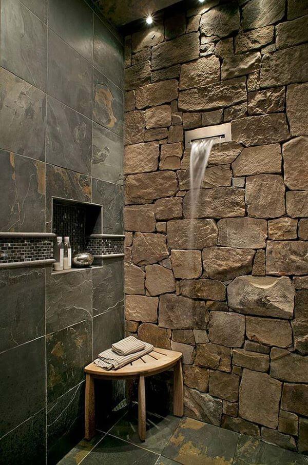 Pedras decorativas para banheiro