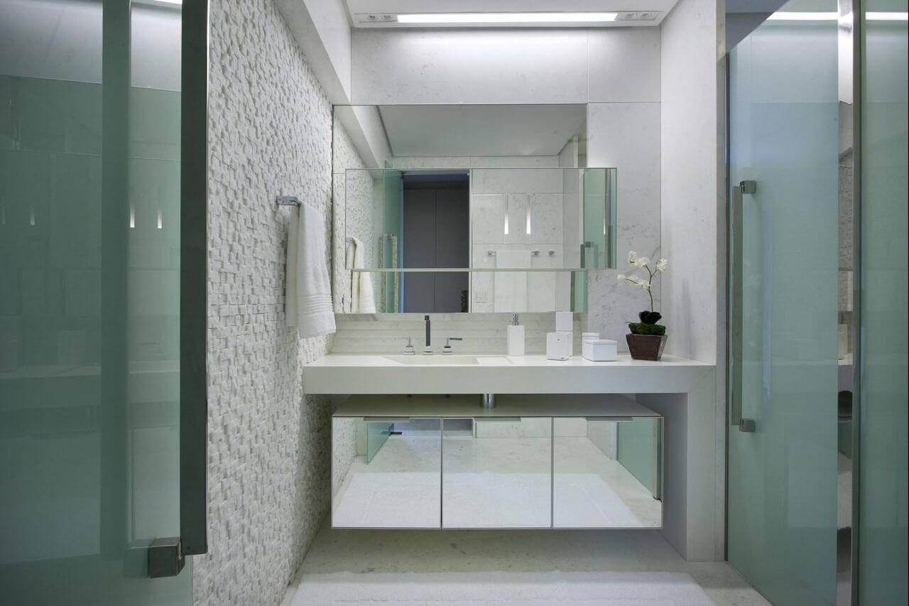 pedras decorativas parede banheiro canjiquinha gislene lopes 70310