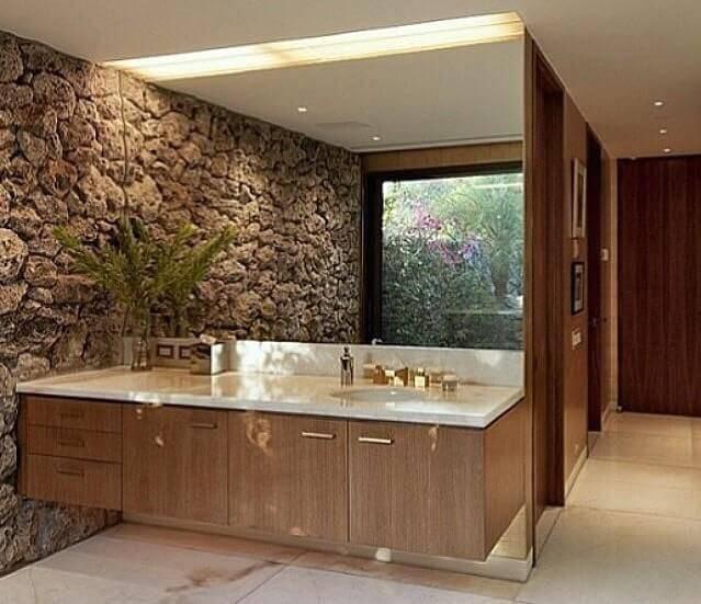 pedras decorativas parede lavabo karol oetinger 30919