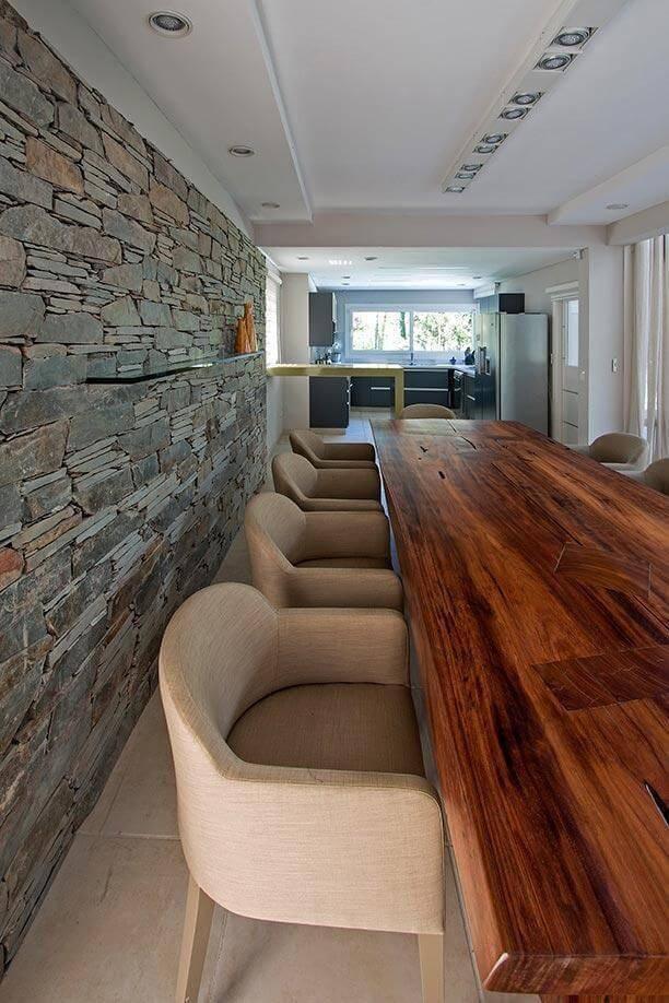 Pedras decorativas 31 inspira es lindas de casas e jardins Modelo de viviendas para construir