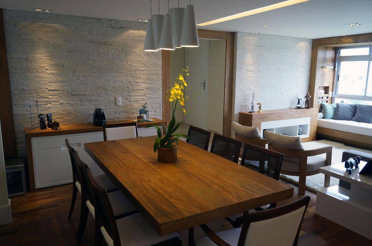 pedras decorativas sala de estar e jantar jaqueline salvador 55585