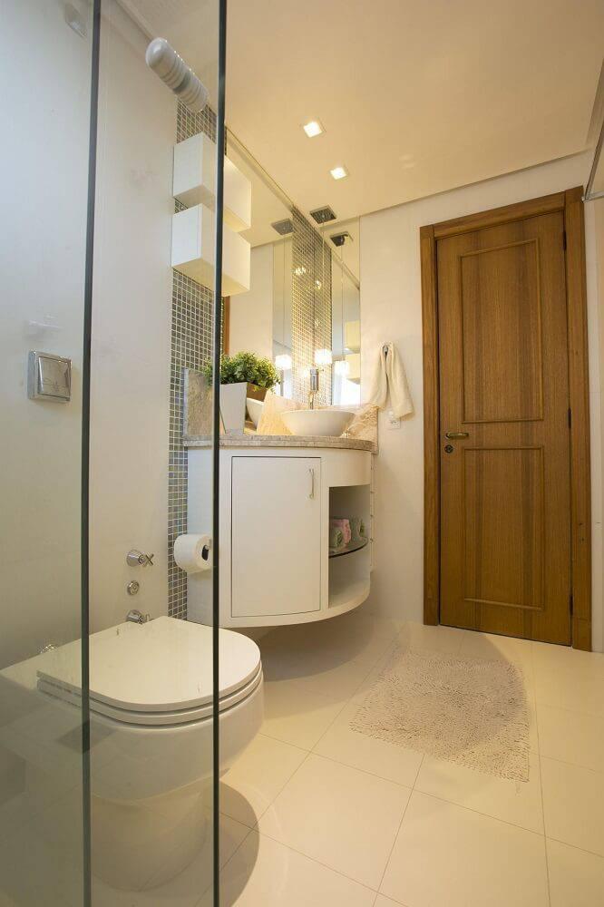 portas de madeira banheiro com relevo camila chalon 20078