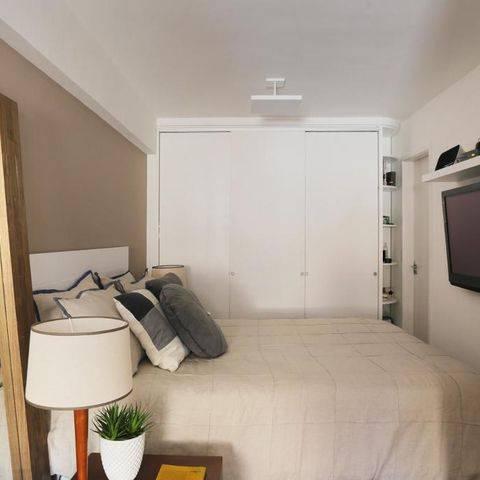 quarto de casal decorado casa arquit 37292