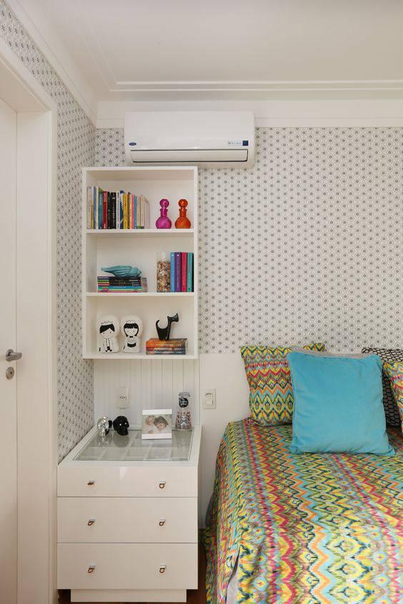 quartos decorados pinterest cama colorida