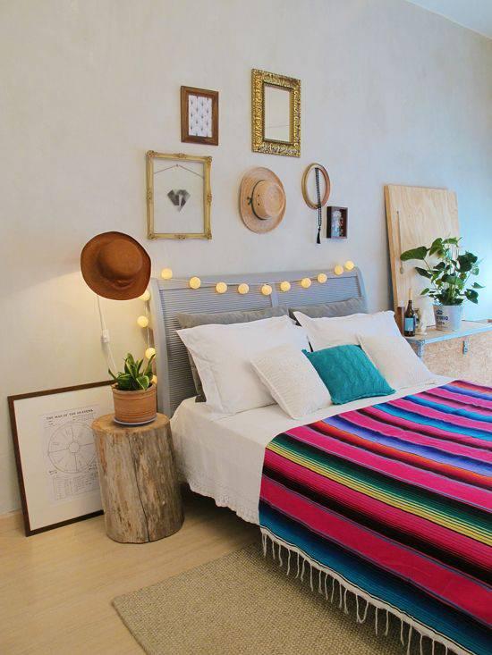 quarto decorado pinterest quadro e chapeu