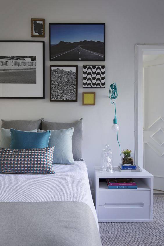 quartos decorados pinterest quadros
