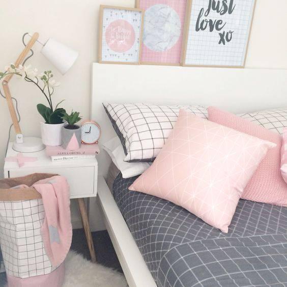 quartos decorados pinterest rosa