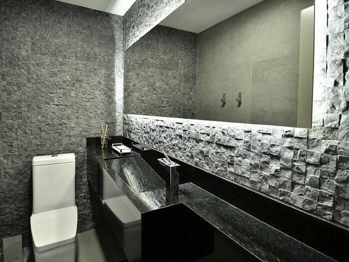 revestimento 3d banheiro de pastilhas mairas chaff 36587