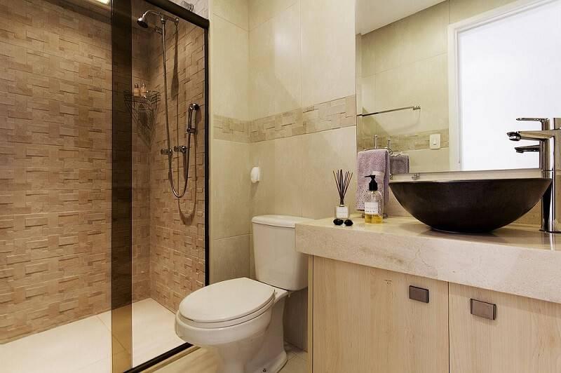 revestimento de parede pedra banheiro juliana conforto 36983