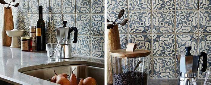 azulejo portugues detalhe da cozinha