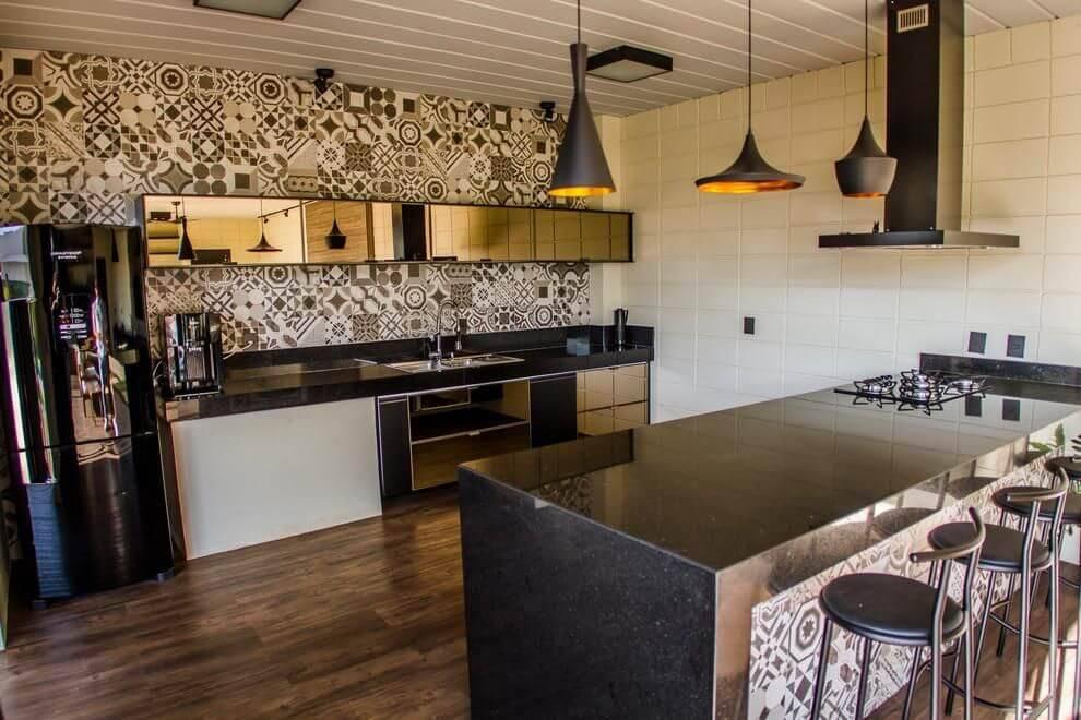 azulejo portugues inspirado cozinha haus arquitetura 103266