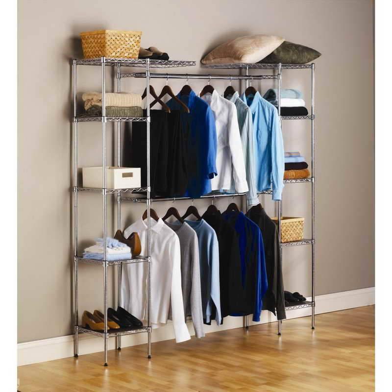 closet pequeno e barato aramado