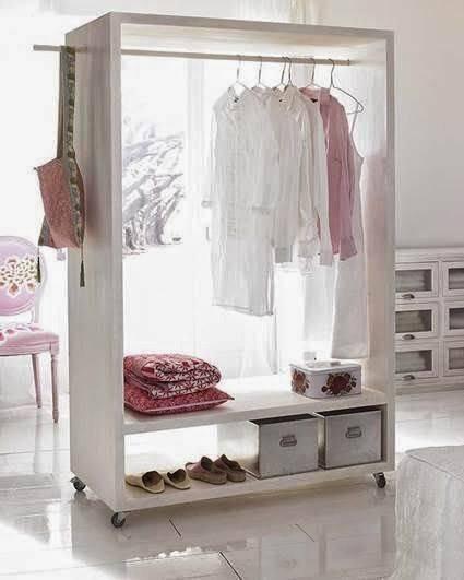 closet pequeno e barato com armario de rodinhas